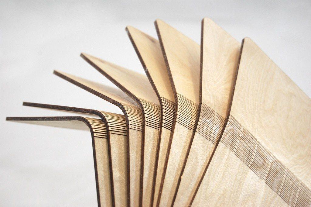 flexible, wooden, sheet, lumber