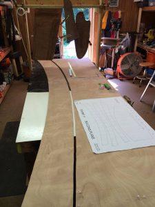 double, layer, okoume, marine, plywood, wood, boat, plank