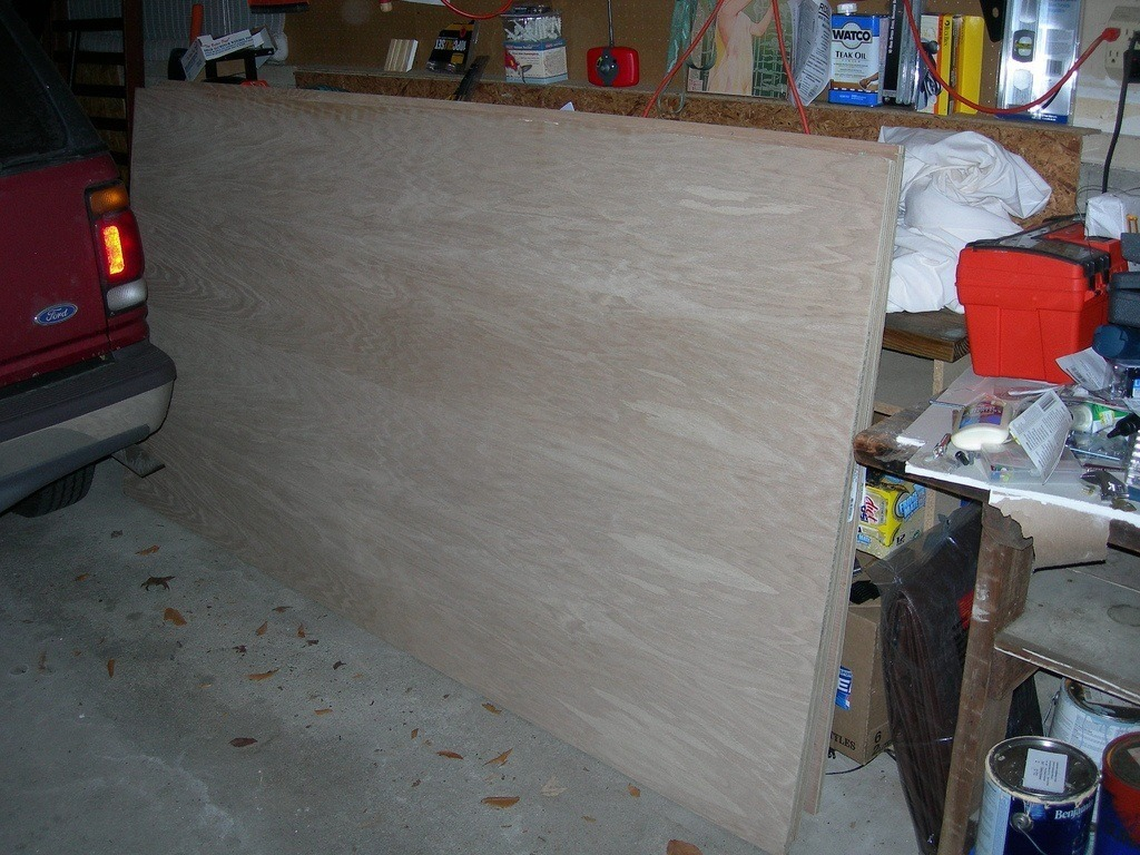 oak, wood, lumber, panel, surface, plywood, heavy, car, garage, car, ford, toolbox