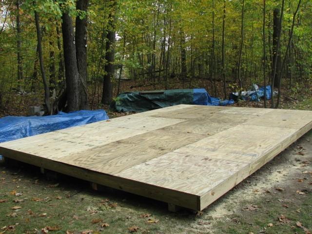 3/4,pressure treated,wood,floor