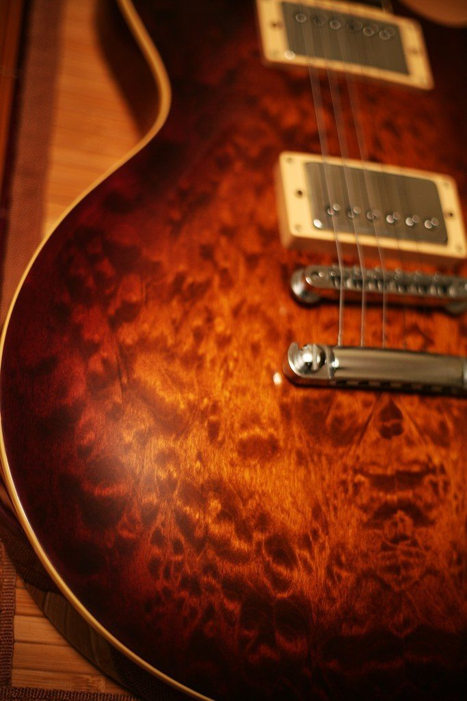 tokai, tiger eye, maple, flame, wooden, guitar, japanese, les paul, strings, music, instrument, metal