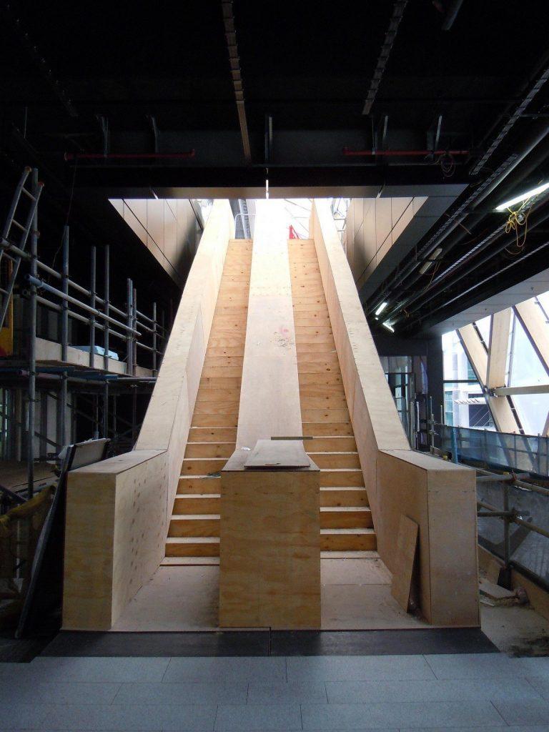 wood, escalator, lift, floor, stairs