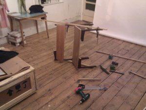 fixing, making, repair, wood, floor
