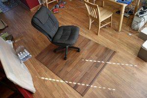 laminate, mat, chair, diy