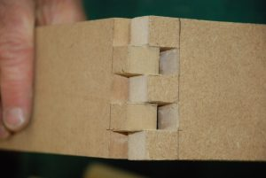 box joints, glue