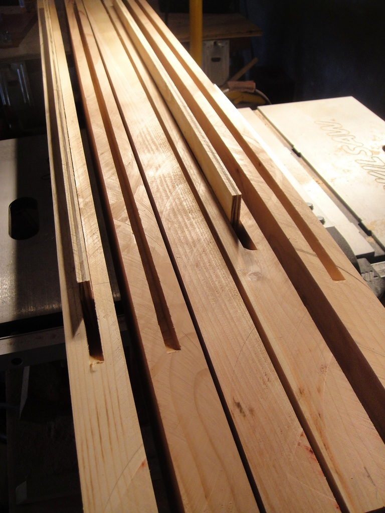Making Long Cuts In Plywood Straight And Angled