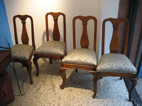 dining room, chairs, 4