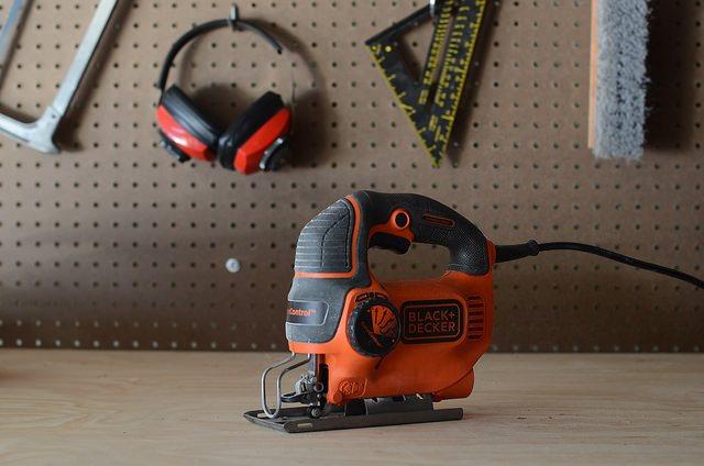 jigsaw, garage, power tool