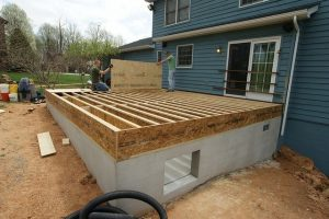 subfloor, foundation, plywood, floor joists