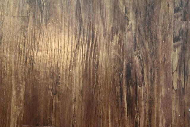 vinyl flooring, wood, plywood