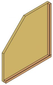 9 inch, cabinet, divider, sketch, wood