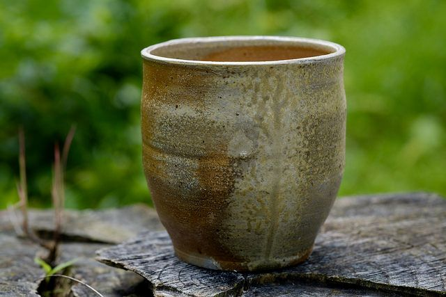 ash wood, cup, wooden