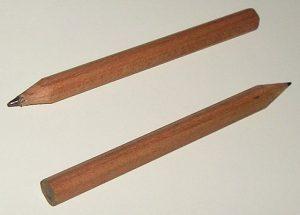 pencil, wooden