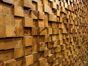 wood, beams, wall
