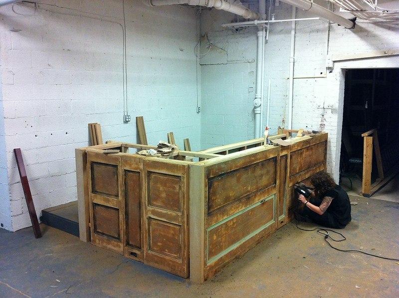 building, bar, wooden