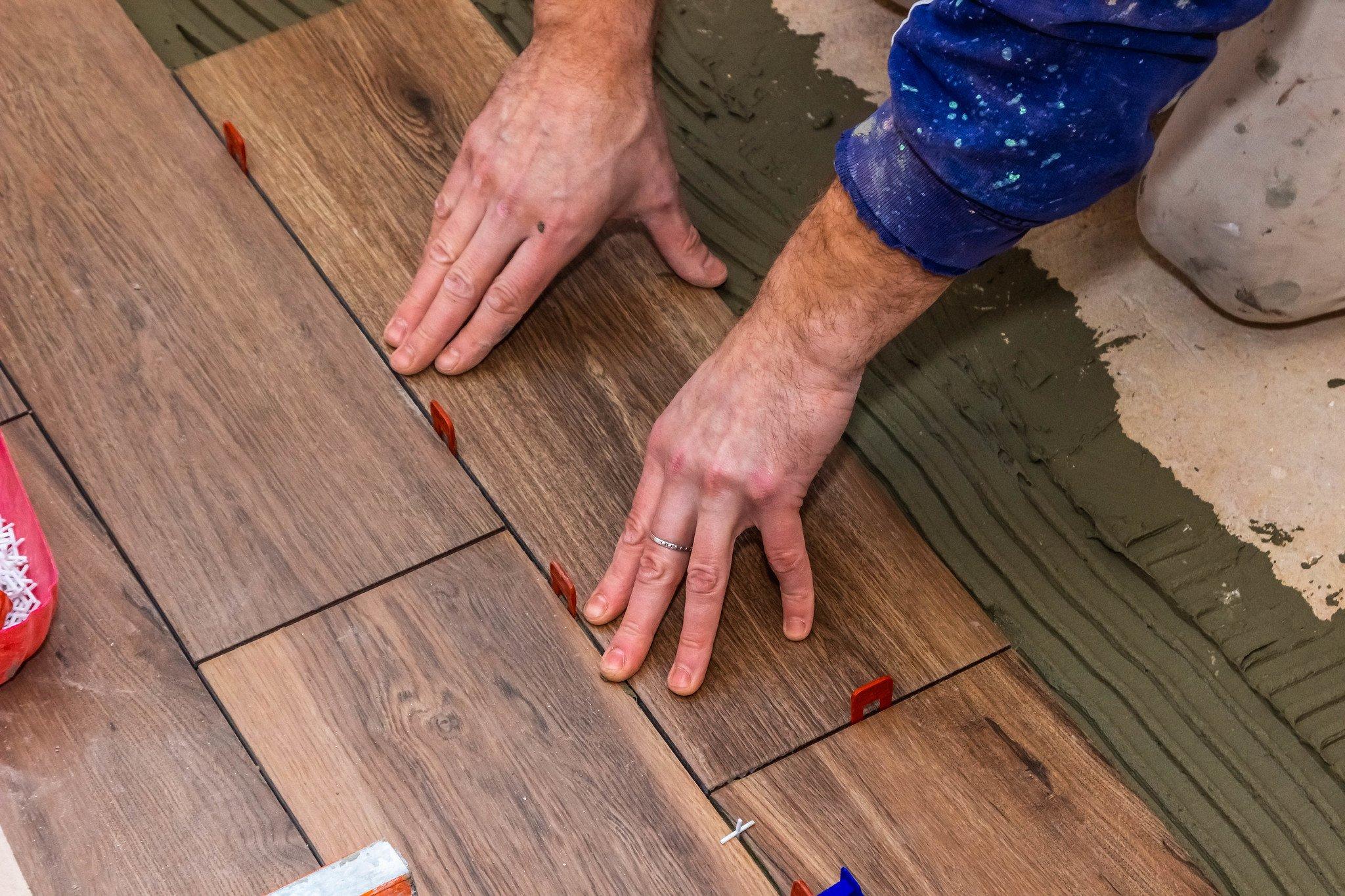 gluing-down, flooring, glue, floor