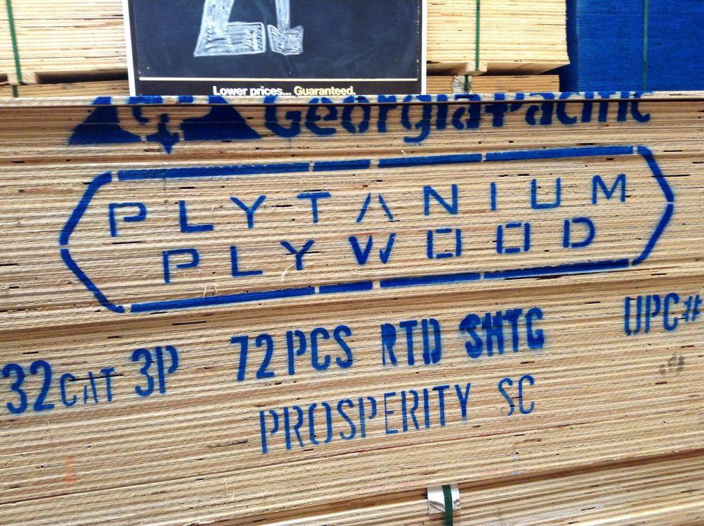 plytanium, georgia pacific