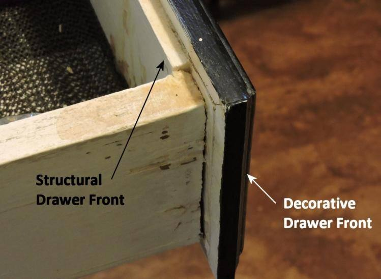 structural, decorative, drawer front