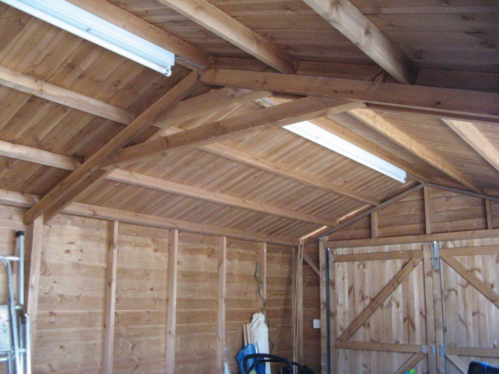 garage, loft, wooden, door