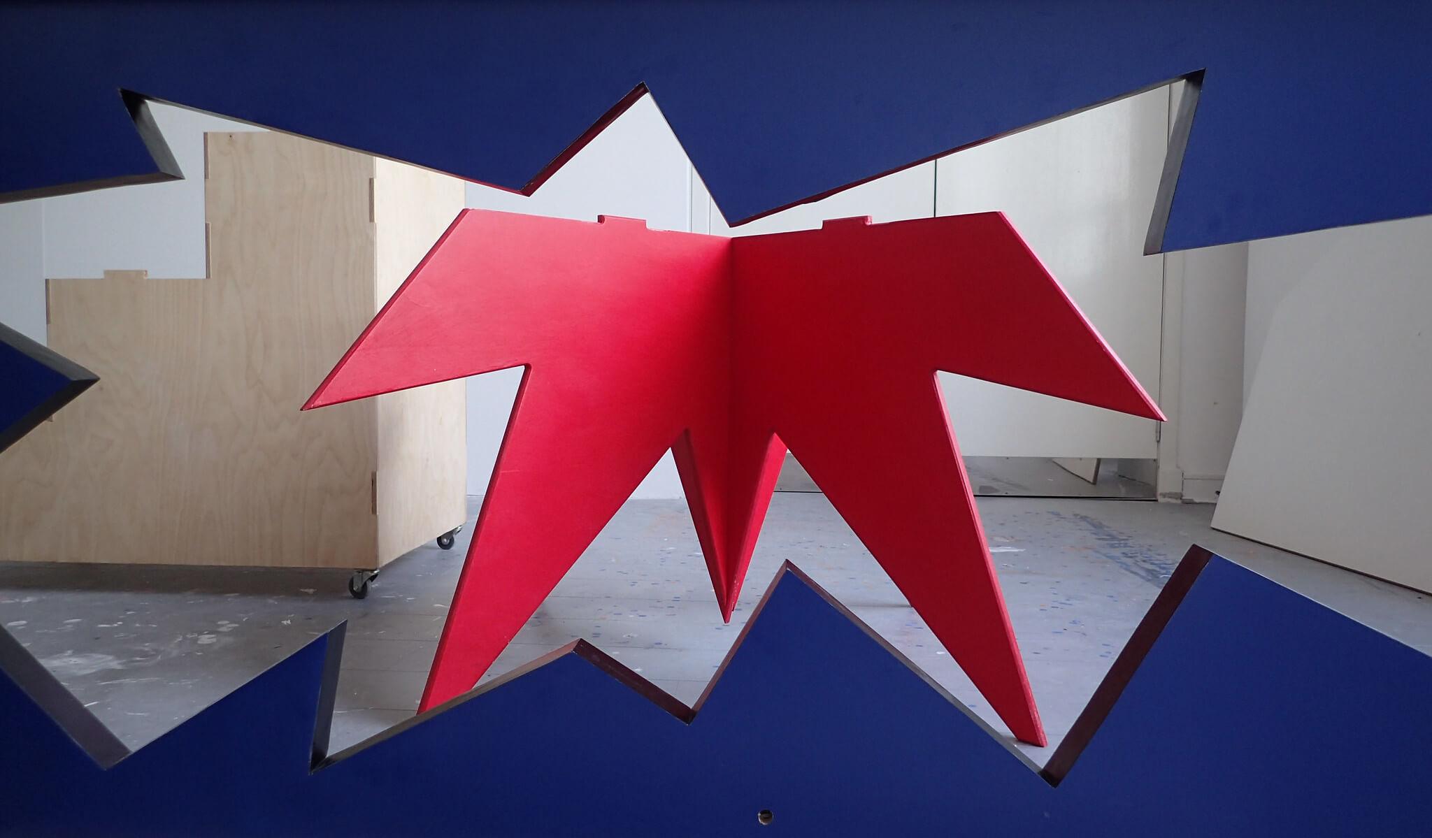 melamine, plywood, art