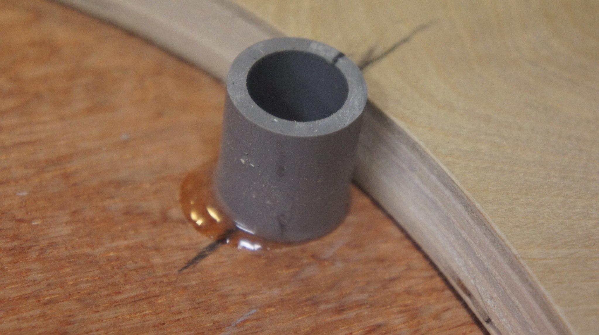 PVC and epoxy, glued, best adhesive