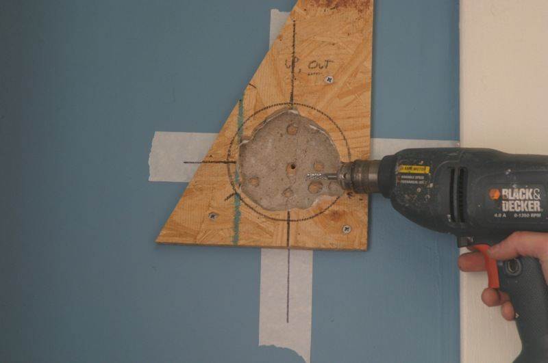 rotozip bit, clean out plaster, rotary saws, drywall cutters