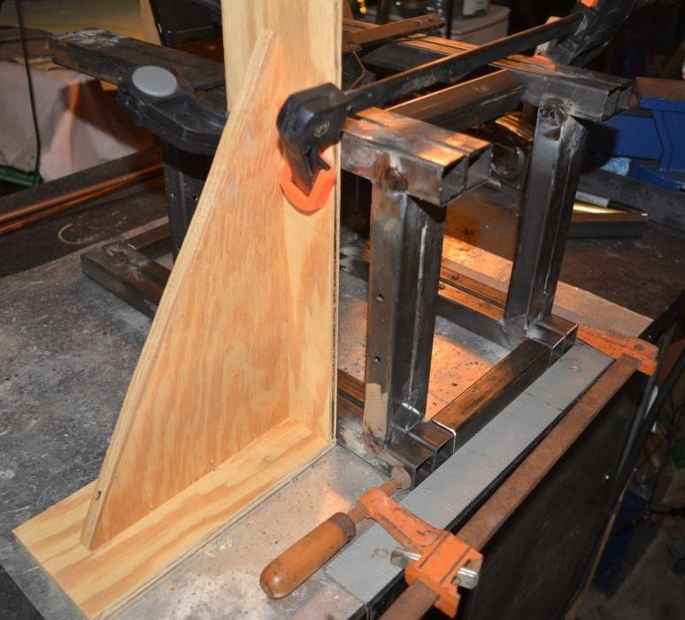 clamping spindle frame