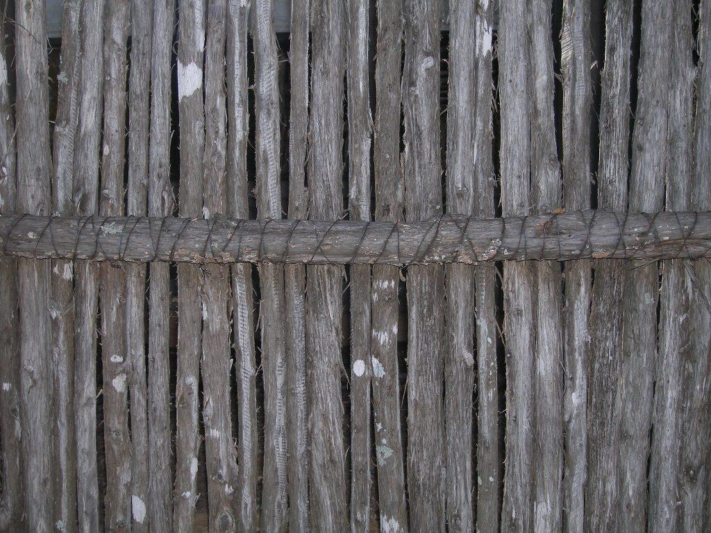 Cedar palisade