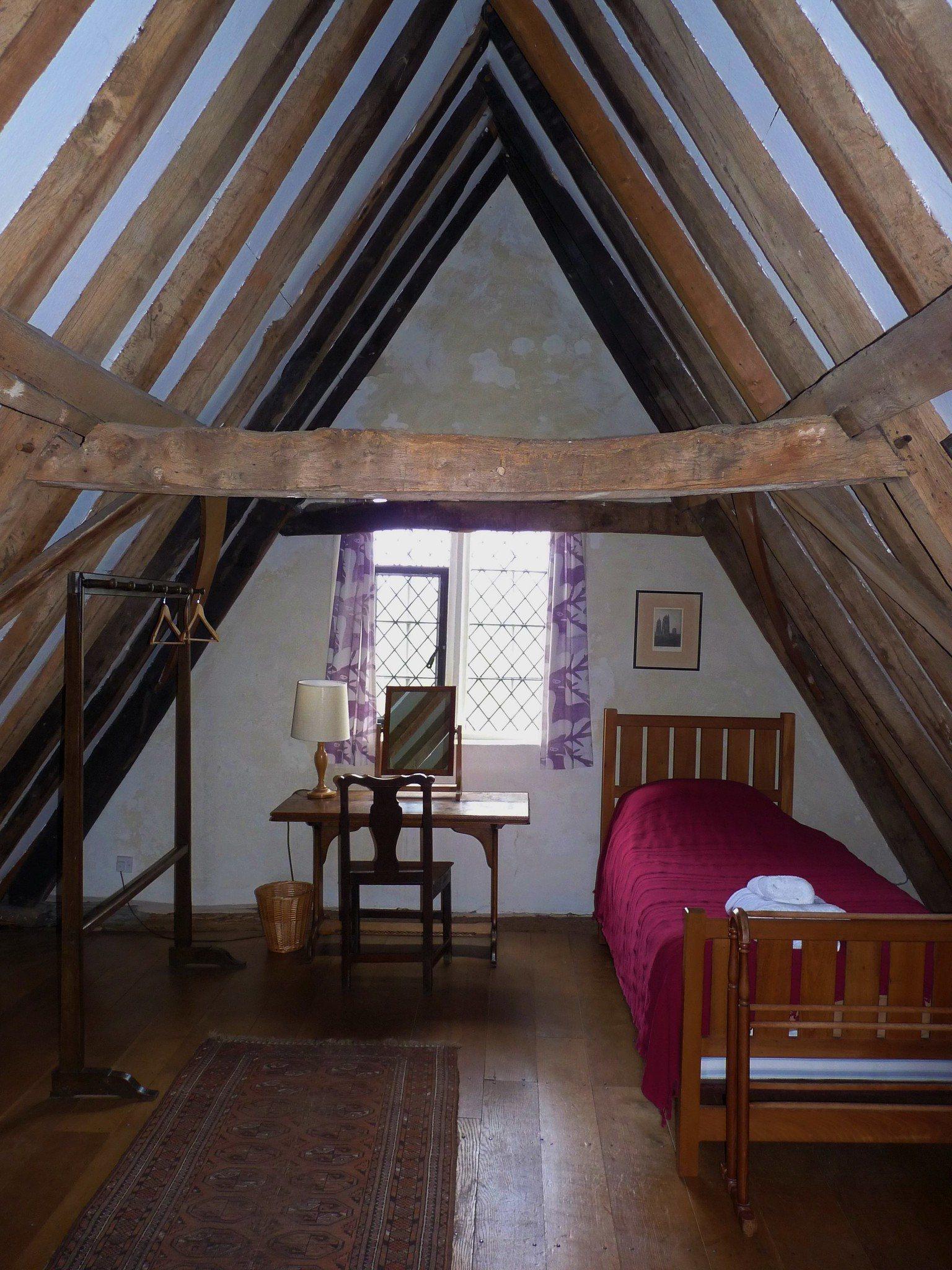 attic, bedroom