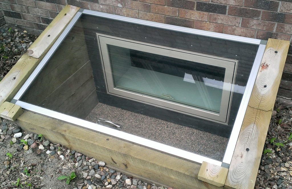 basement, window well covers
