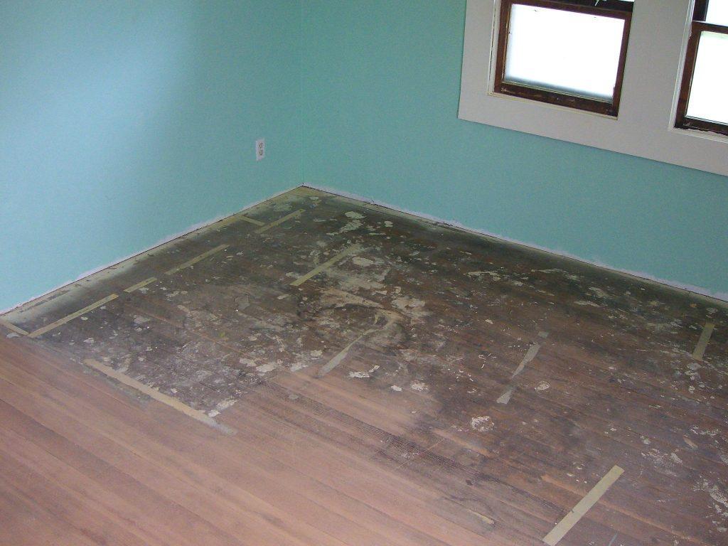 tape, wooden floor