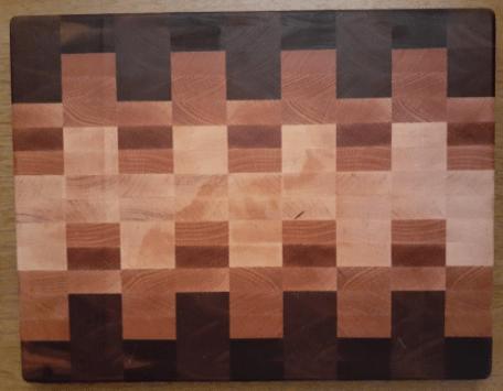 walnut, oak, maple, cutting board