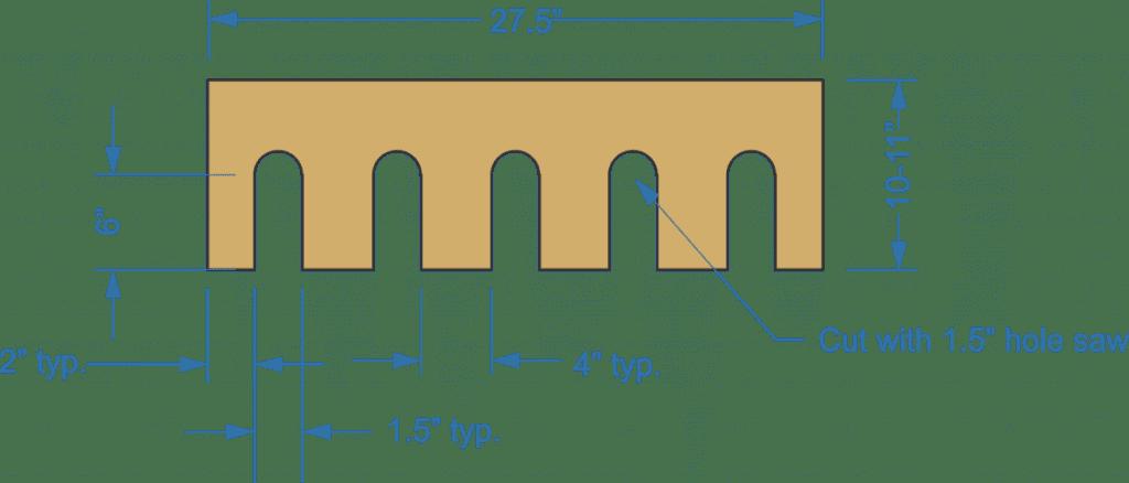 cordless tool storage, drill rack