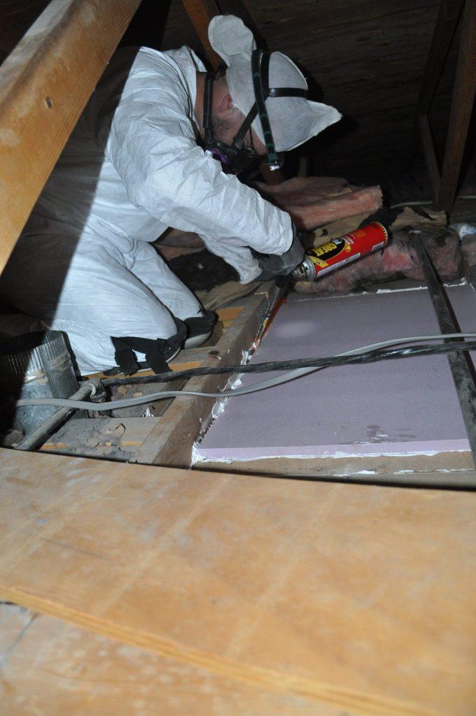 attic, sealing