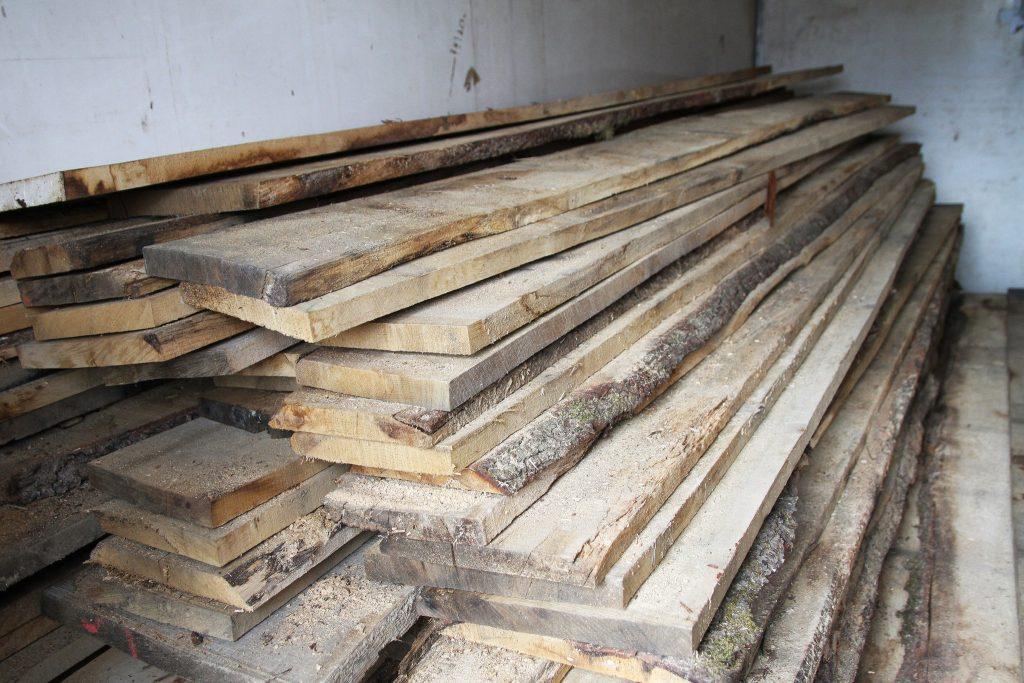klin dried wood