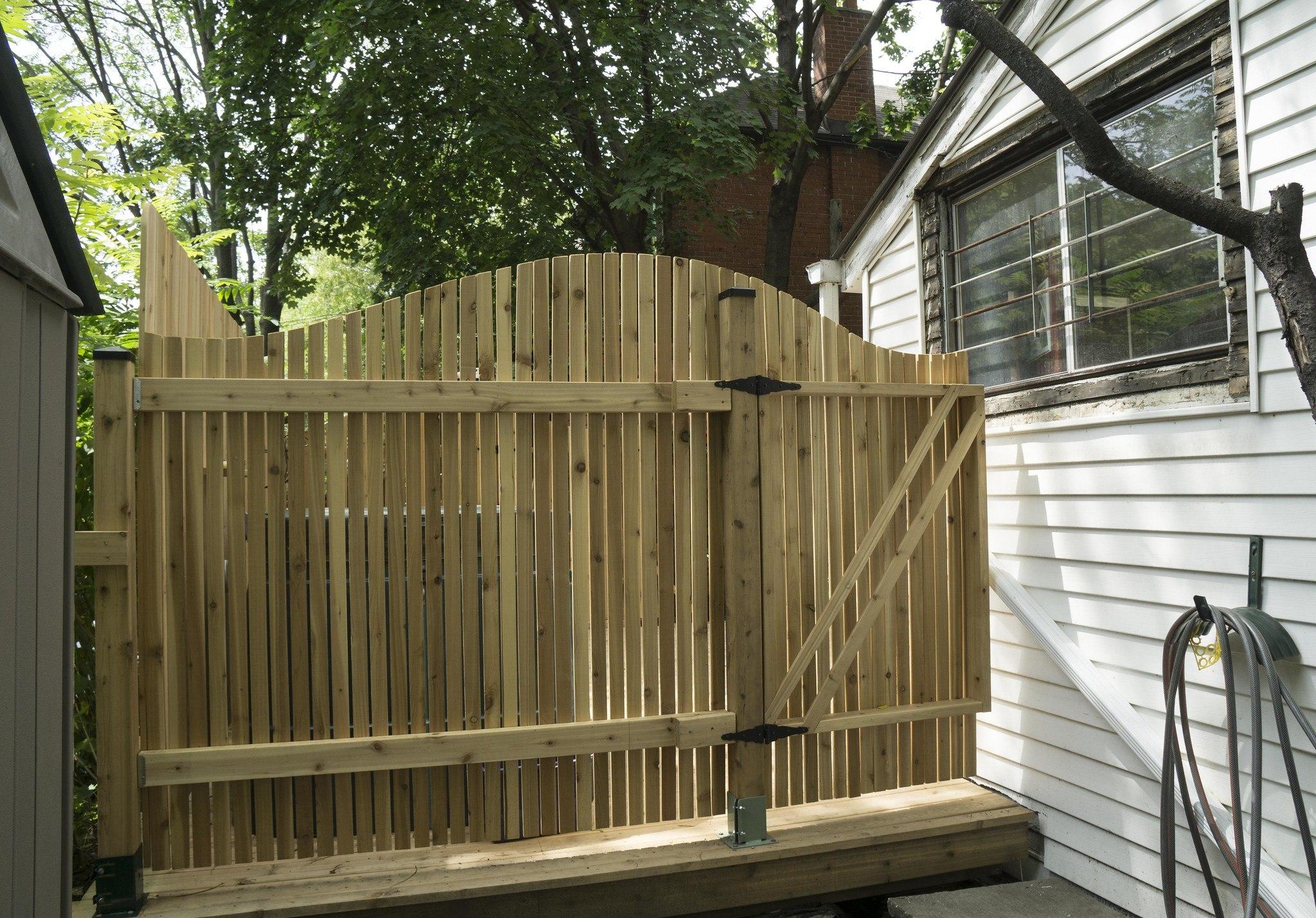 pressure treated fence posts