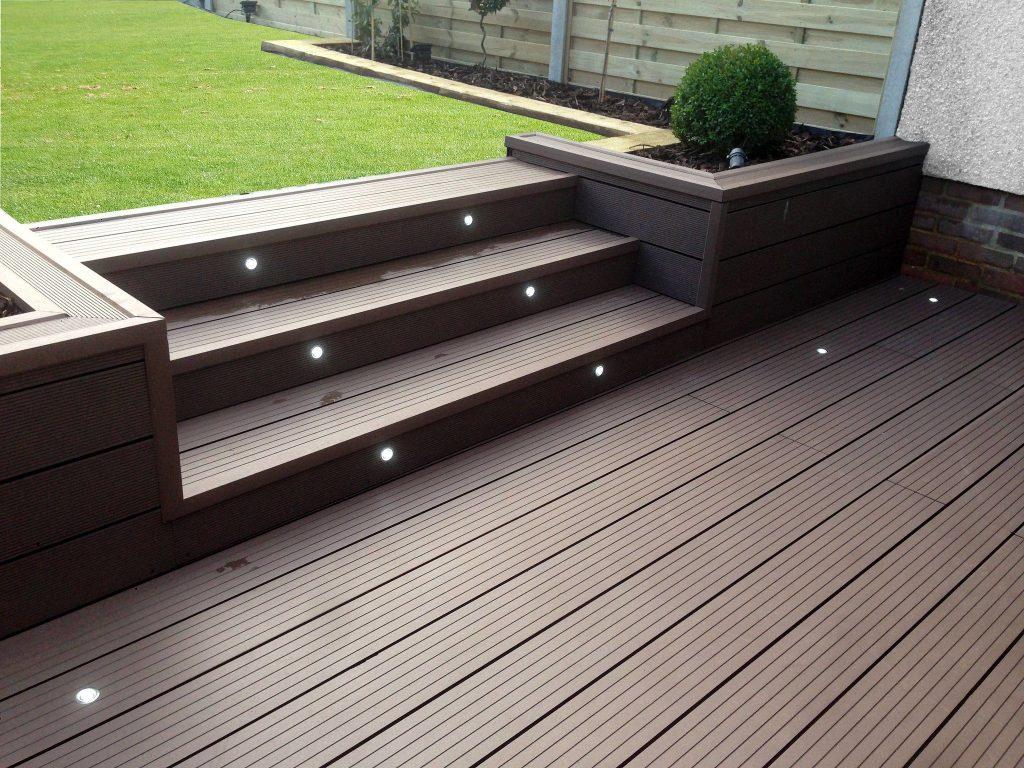 wood plastic, composite decking