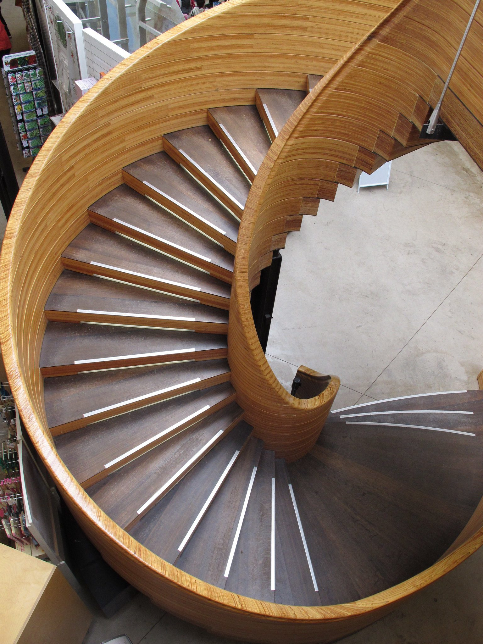 plywood stairs, staircase, laminate